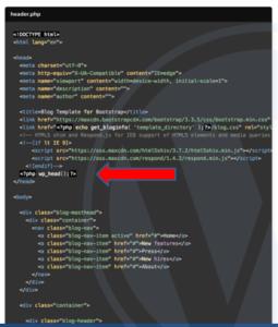 custom WordPress image