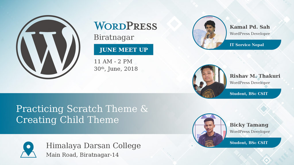 WordPress Biratnagar Meetup June 2018