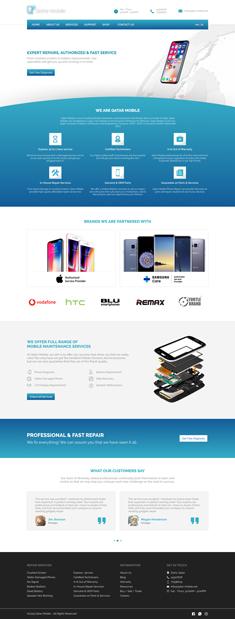 Mobile Service Center Website